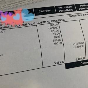 アメリカの医療費 ER編