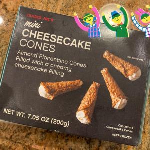 トレジョのチーズケーキ
