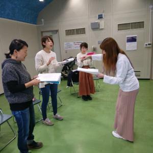 2/17☆府中中央文化センター☆ママゴスペルレッスン