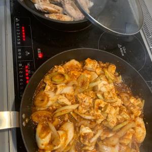 麻婆豆腐 スペアリブ風