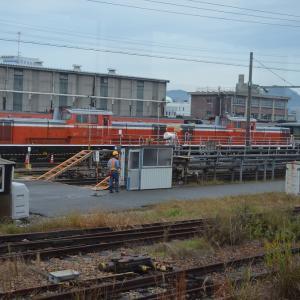 DD51 お召列車前日