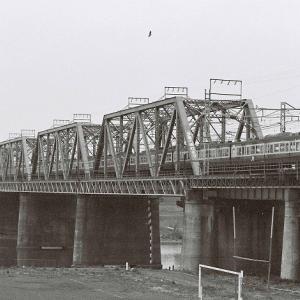 113系 横須賀線 多摩川鉄橋