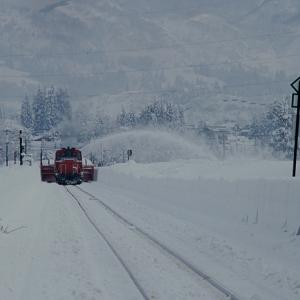 DD14328 特雪 只見線