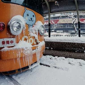 札幌市電 厳冬 2006年2月