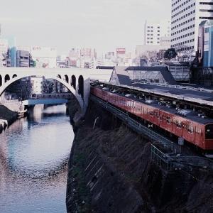 201系 中央線 神田川