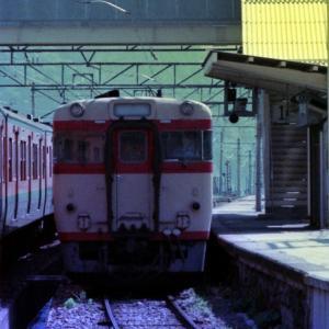 キハ58 パノラミックウインドウ 列車交換
