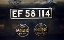 最後の新1号編成使用 お召列車 DD51842