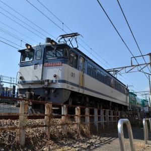 米タン 南武線経由 EF65 8286レ