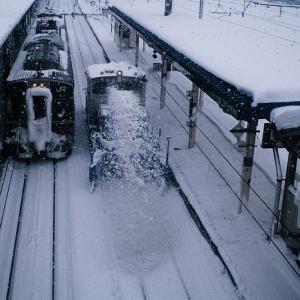 ハイモ 横手駅構内排雪
