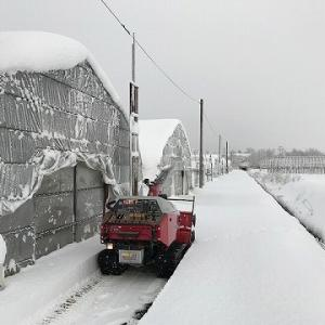 WADO除雪機の出動の季節がやってきました!