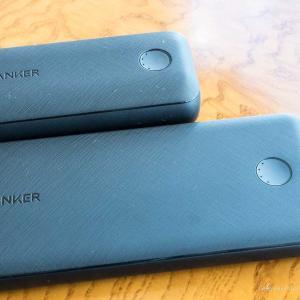 【どっちがいい? レビュー】Anker Power Core Slim 1000 PDとPD Redux