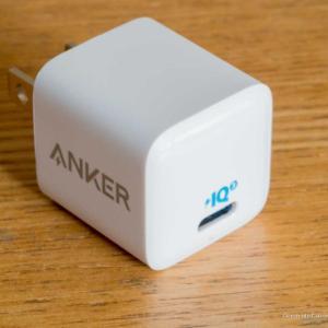 【レビュー】Anker PowerPort III Nano 安いのに最小・最軽量の18W PD充電器
