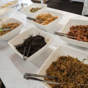 奥日光湯元温泉 おおるり山荘の食事を写真で紹介