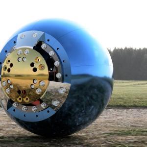ボール型ロボットの自作 バラスト(錘)の作成