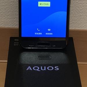 サブスマホをSIMフリー「AQUOS R compact」に機種変更。