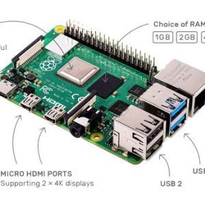 新型「Raspberry Pi 4」が発売に。