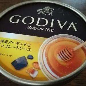 GODIVA 「蜂蜜アーモンドとチョコレートソース」