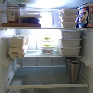 【冷蔵庫の中公開】大量ストック不要。何もない週の終わりの冷蔵庫
