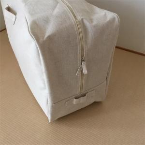 【整理収納】季節外の羽毛布団と来客用の布団3人分を、超コンパクトに。