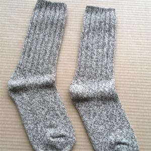 【冷え取り】靴下重ね履きの効果?