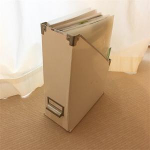 【5分で書類整理】取説・保証書類の収納は箱一つ