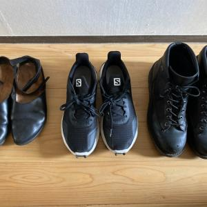 【ミニマルワードローブ】靴は3足 new verson