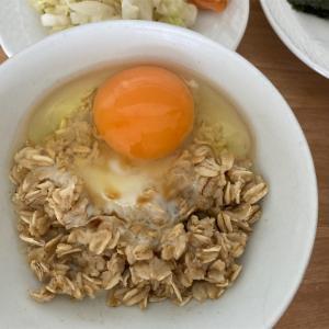 【目標3kg減】基本のTKO=卵かけごはん@オートミール米化ダイエット