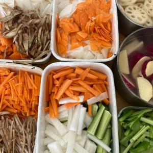 【ミニマル家事】根菜だらけの作り置き