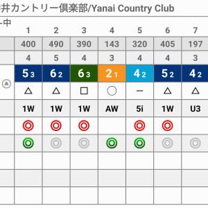 163ラウンド 柳井カントリークラブ