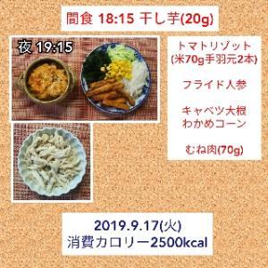 揚げ物食べたい/56.6kg