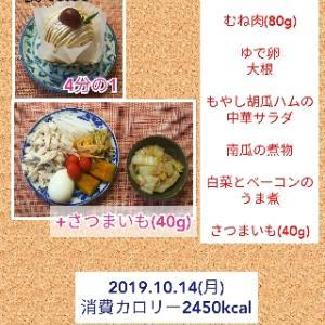 和栗のモンブラン/55.7kg