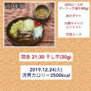 明日は唐揚げとケーキ/56.1kg