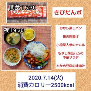 餃子の皮ピザ/57.4kg・57.0kg