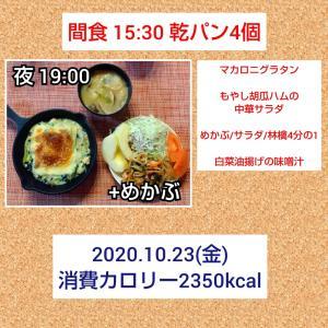 念願の鶏天タルタル/57.3kg・57.6kg・56.7kg