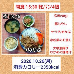 韓国料理にハマりそう/57.0kg・56.7kg・57.1kg