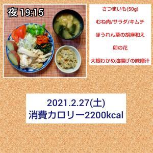 シズラーデビューと越生梅林/56.5kg・56.8kg
