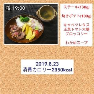 むね肉に飽きたのでステーキ/56.4kg