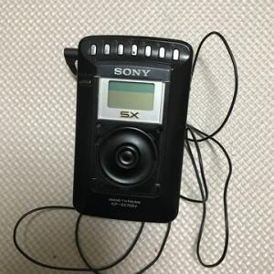 ラジオ壊れる!!