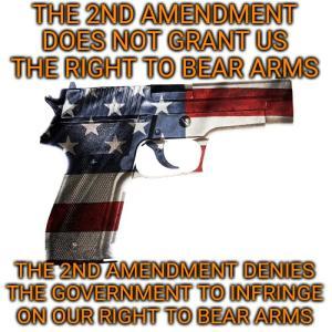 市民による武器の所持、携帯を保証する「権利章典」