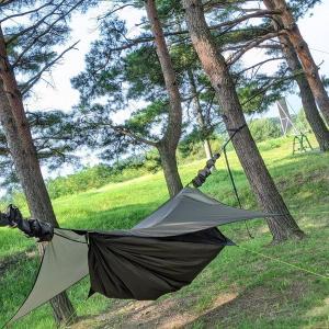 ソロキャンプはハンモック泊がおすすめ!テントとの比較で見えたハンモックの絶大なメリット5選!