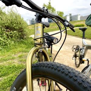 自転車趣味における、ヘッドライト問題の紆余曲折と現状のことを少々。