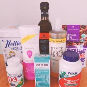 iherb購入品~食器洗い洗剤、フェミンウォッシュ、ヘルシーおやつ他8点レビュー