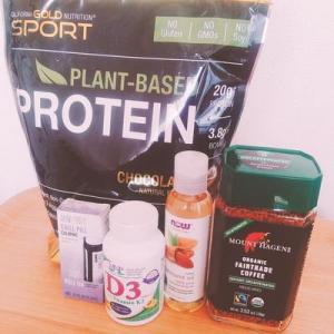 iherb購入品~植物性プロテイン、深くリラックスできるアロマロールオン他5点レビュー