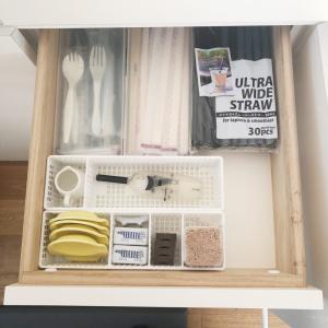 遂に始動!キッチン背面収納の見直しとリピしまくりの神収納用品♡