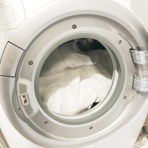 【寝室リフレッシュ③】何年ぶり?レースカーテンのお洗濯。