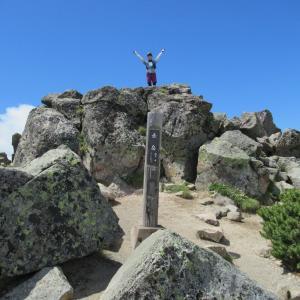 大雪山系「赤岳」のここにも登りたい
