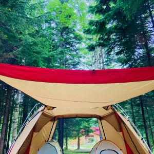 「定山渓自然の村キャンプ場」は安くて綺麗でとてもいい