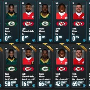 【NFL Playoff Challenge Round1】ポイント0で順位は18万2387位、覚悟の上とはいえ悲しい