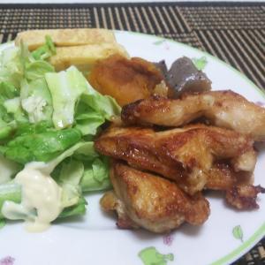 鶏むねご飯