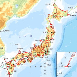 [日本一周まとめ] ルートと自転車について